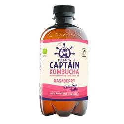 Napój Captain Kombucha California Raspberry - malinowy BIO 400ml